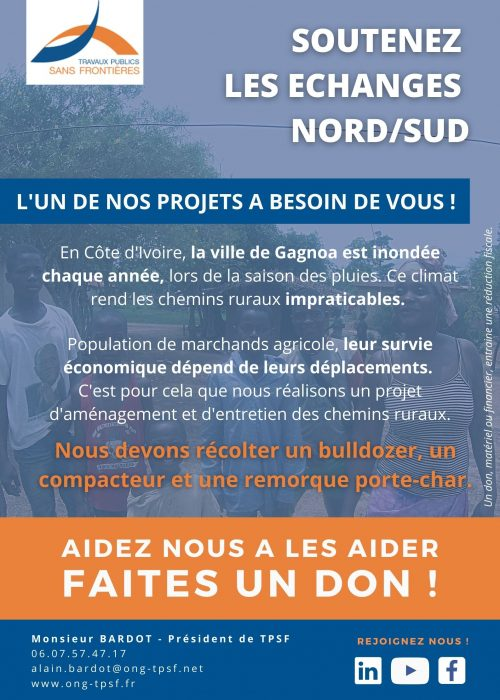 Campagne de dons TPSF